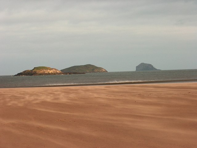 The Lamb, Craigleith and the Bass Rock