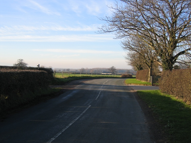Minor Road by Caldecott Hall