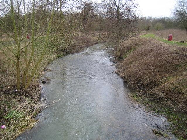 River Stort in Bishop's Stortford