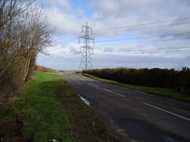 B1176 looking north near Essendine