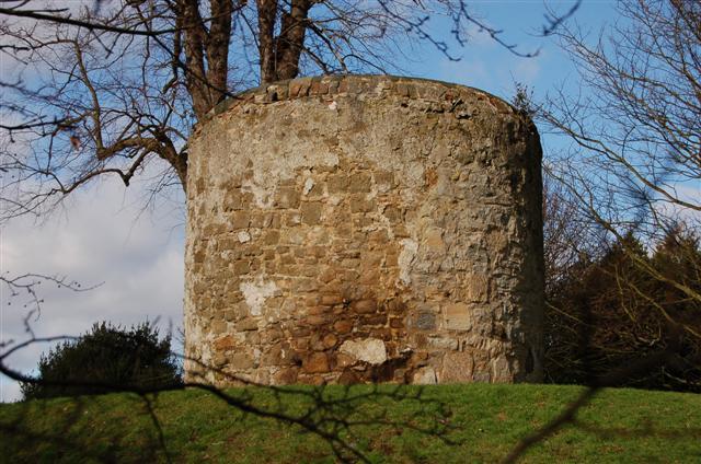 Windmill stump