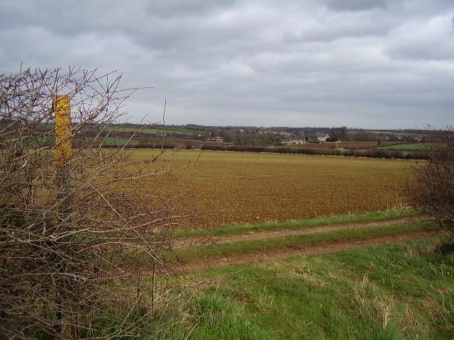 Bridleway across the fields to Ingthorpe