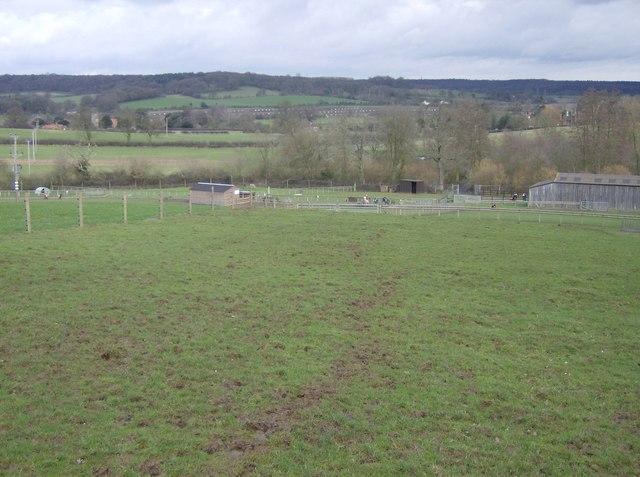 Approaching the farm park