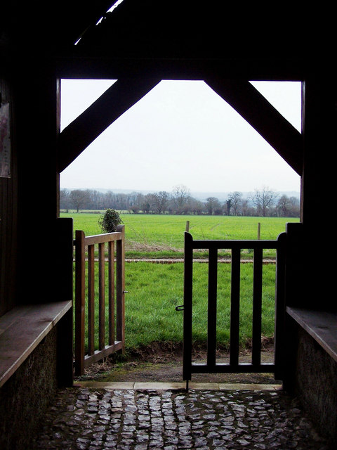 View from St John's Church Porch