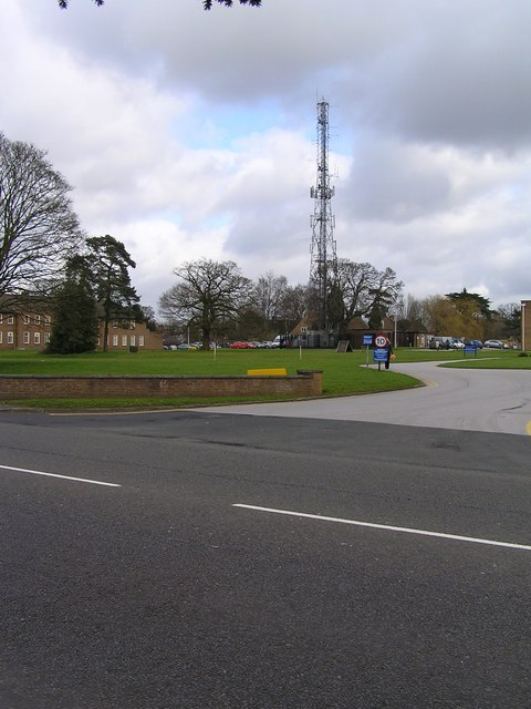 Staffordshire Police Headquarters Radio Mast