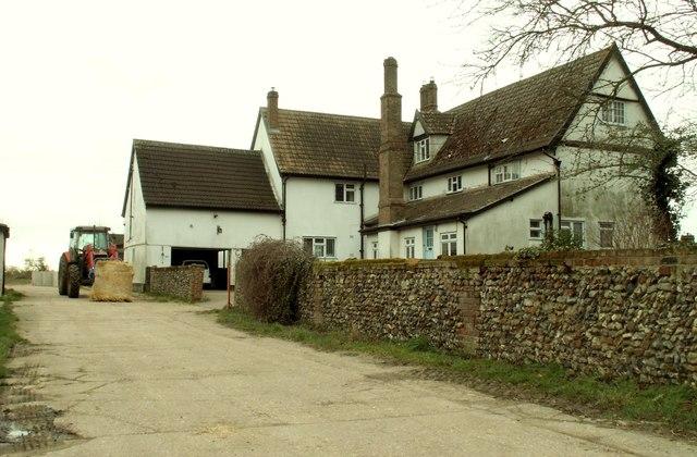 Farmhouse at Thorndon Hill Farm
