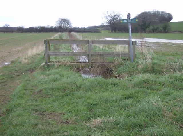 Footpath crossing