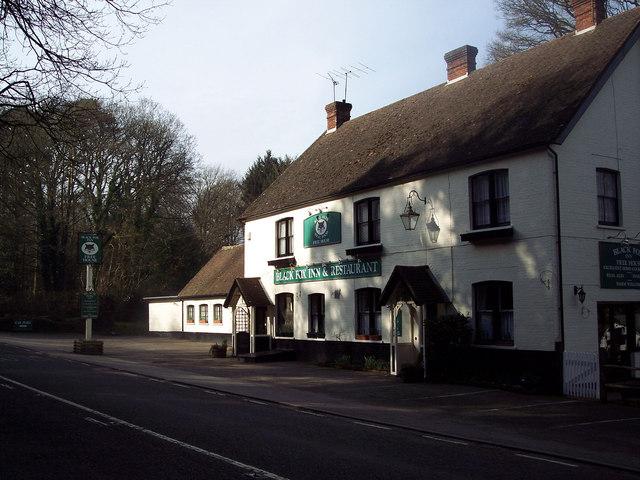 The Fox Inn near Griggs Green