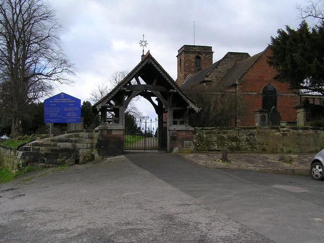 Lych Gate, Holy Trinity Church, Baswich