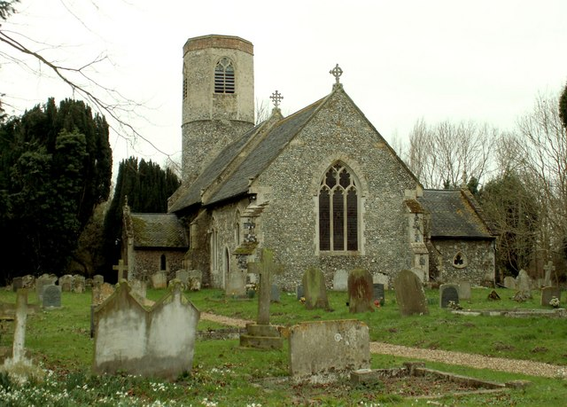 All Saints church, Stuston, Suffolk