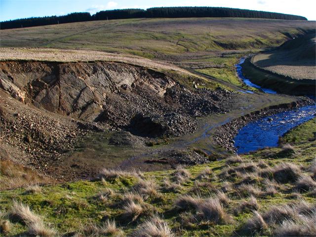 Quarry next to Wester Burn