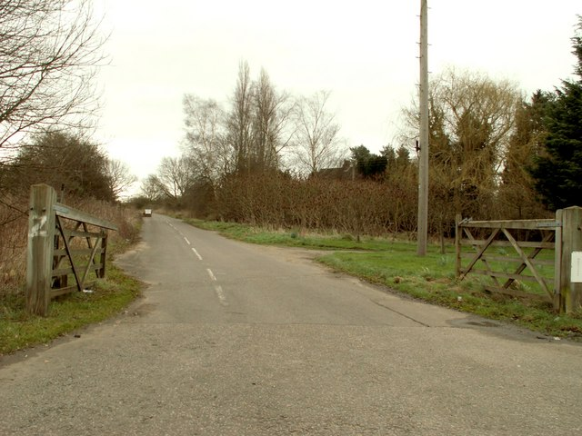 Bridleway at Stuston