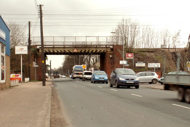 Victoria Road, near to Diss Railway Station