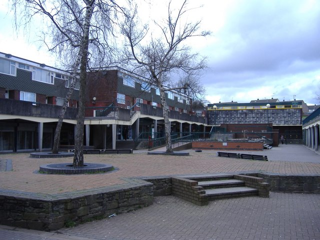 Town centre, Bettws