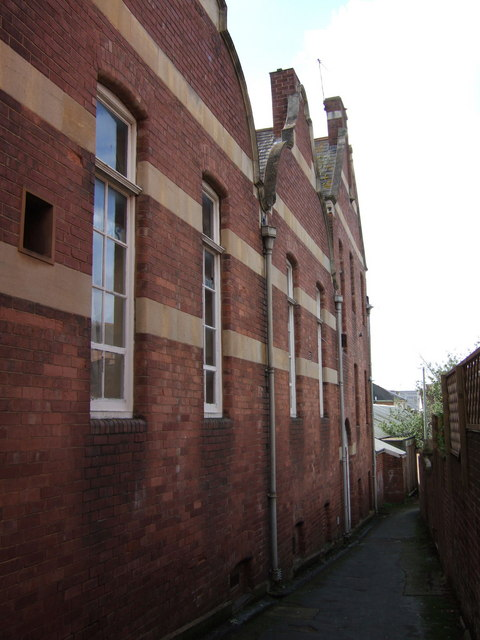 Rear of Moose Hall, Exeter