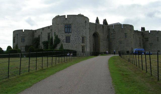 Chirk Castle entrance