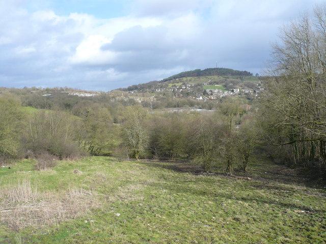 Wirksworth - Middle Peak and Steeple Grange