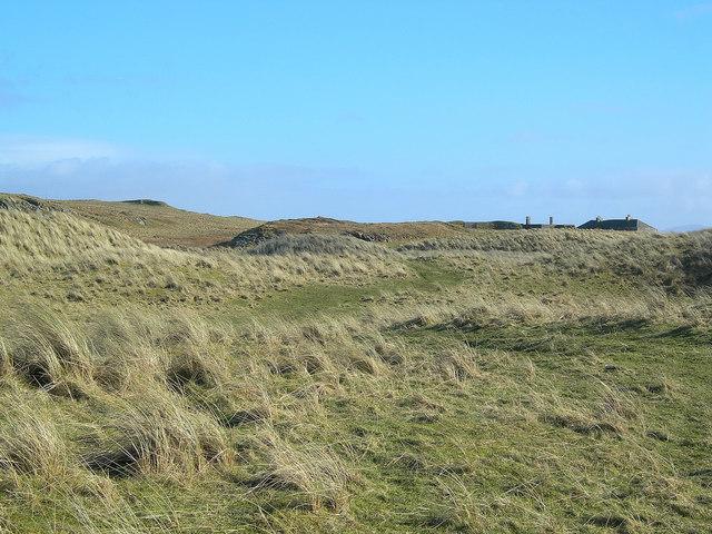 Stabilised sand dunes
