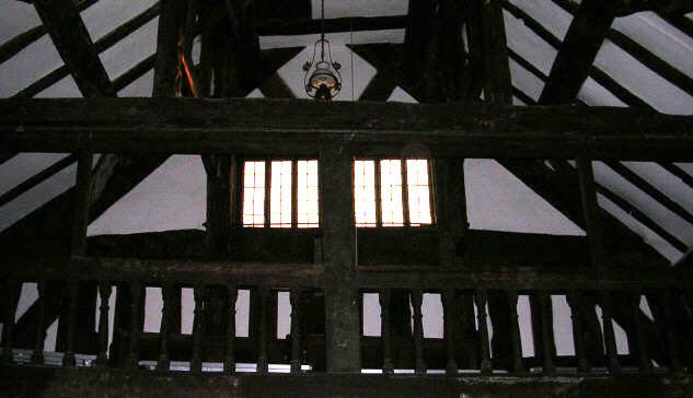 Melverley Church interior