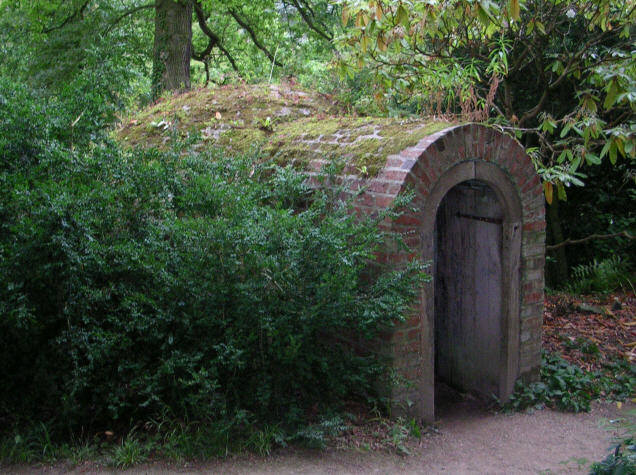 Powis Castle - Ice House