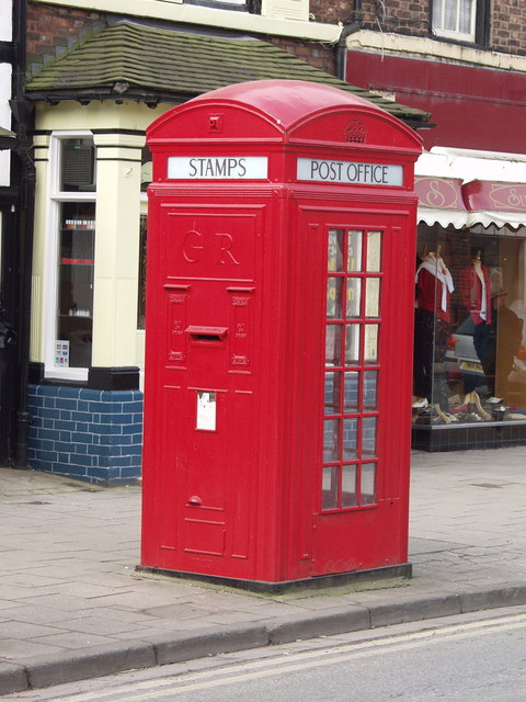 Phone Box/Post Box/Stamp Machine