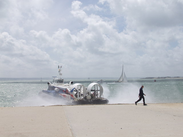 Hovercraft for Isle of Wight