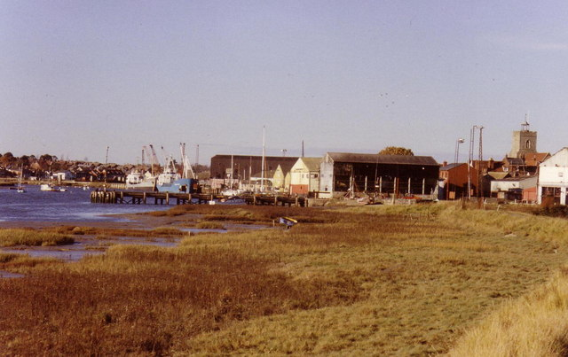 Colne at Wivenhoe, 1989