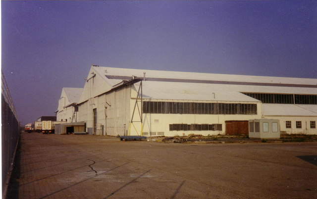 Heathrow Airport, Hangars 3 & 4 in 1990