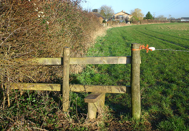 Stile near Brize Norton