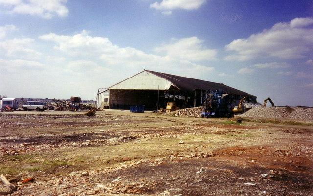 Heathrow Airport, Hangar 1 in 1990