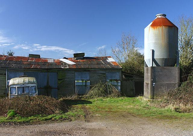 Dereliction at Coursehill Farm