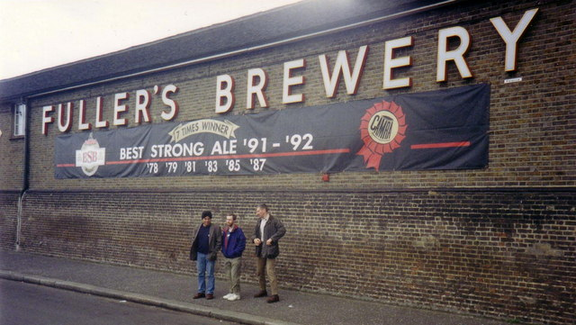 Fuller's Griffin Brewery, Chiswick