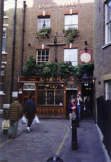 The Lamb & Flag, Covent Garden