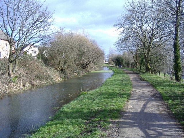 Monmouthshire and Brecon canal, near Rogerstone