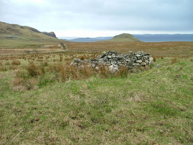 Ruined Croft Building at Totscore