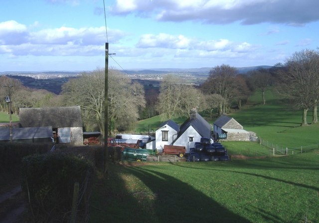 Upper Wenallt farm