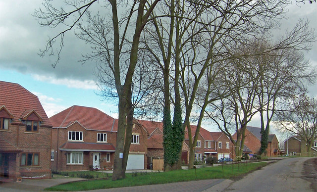 New Housing on Station Road, Whitton