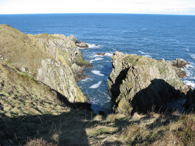 Redhythe Point near Portsoy