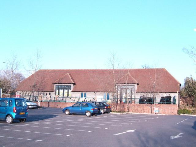 Aquatics building at Wyevale Garden Centre