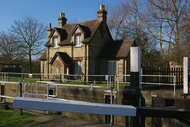 Lockkeeper's Cottage, Hertford Lock, Lee & Stort Navigation