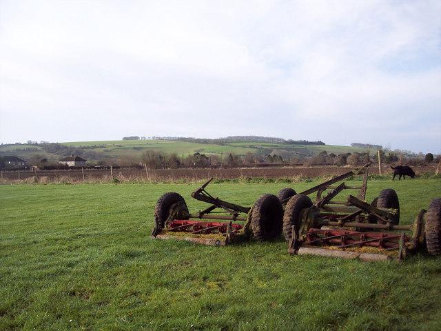 Mower on Bishopstone Recreation Field