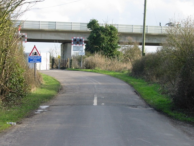 Bypass over minor road