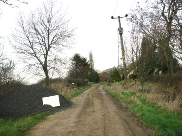 Track to Neville Hall Farm