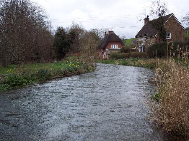 River Ebble at Stratford Tony