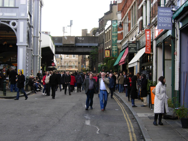 Stoney Street, Borough Market