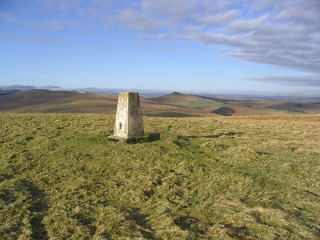The trig point on Pike Fell