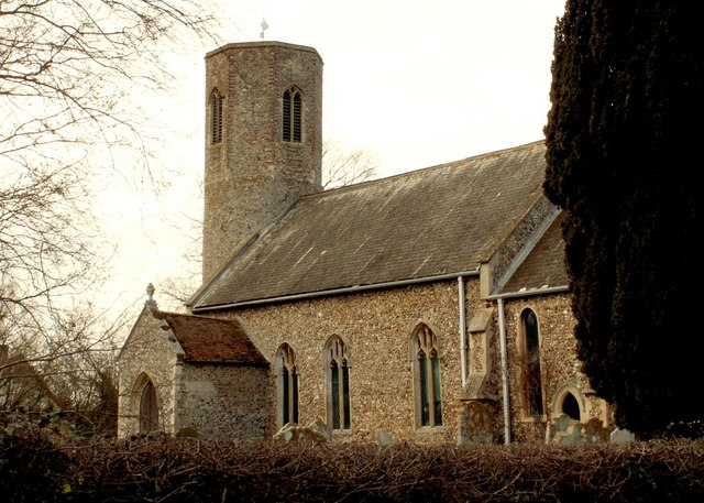 St. Mary's church at Rushall, Norfolk
