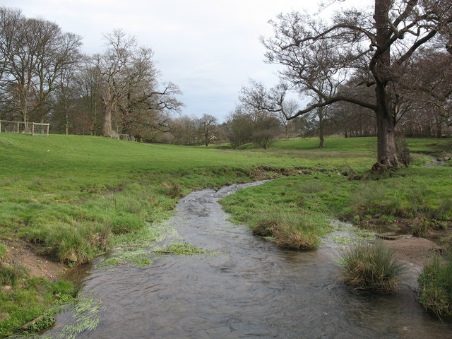 The beck at Firby