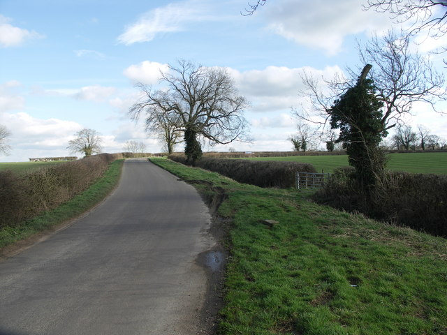 Country Lane to Great Oxendon.