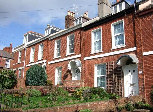 Hampton Buildings, Exeter